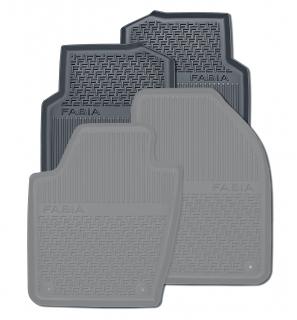 Gummifußmatten-Set hinten (2-teilig)