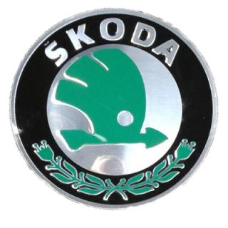 Nabendeckel für Skoda Original Alu-Felgen