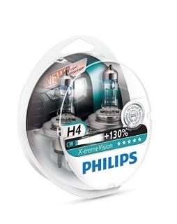 Glühlampen-Set Philips X-treme Vision H4