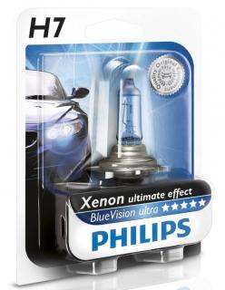 Glühlampe Philips Blue Vision Ultra H7