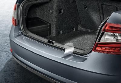 Schutzfolie für die Heckstoßstange Octavia III Limousine Facelift