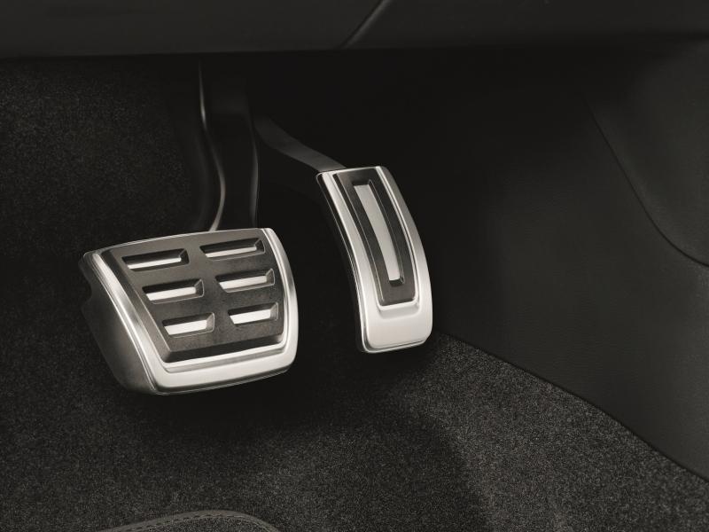 edelstahl pedal blendenset. Black Bedroom Furniture Sets. Home Design Ideas