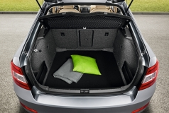Textilmatte für Kofferraum Premium Octavia III Lim.