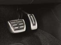 Edelstahl Pedal-Blenden für Fahrzeuge mit Automatikgetriebe/DSG