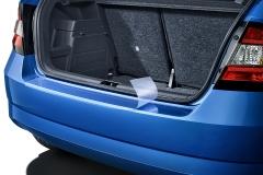 Schutzfolie für die Heckstoßstange für Fabia III Limousine