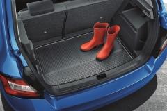 Kofferraumwanne mit erhöhtem Rand Fabia III Limousine