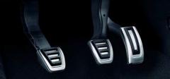 Sportpedal-Set aus Edelstahl für Fahrzeuge mit Schaltgetriebe