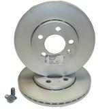 Skoda Bremsscheibensatz Vorderachse Original 1S0615301H