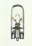 Glühlampe Philips Nummernschildleuchte W10/5