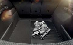 Kofferraumwendematte für Kodiaq mit Reserverad
