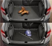Kofferraumwendematte - für Karoq mit Basisboden