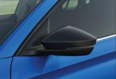 Spiegelkappen-Set, schwarz-metallic für Fahrzeuge mit Spurwechsel Assistent