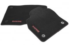 Textilfußmatten-Set Premium Rot KAMIQ