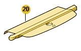 Abdeckplane / Kofferraumrolle Fabia 2 Combi