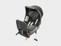 Kindersitz Baby-Safe Plus, ISOFIX, grau