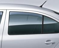 Seitenwindabweiser-Set, hinten Octavia II Limousine