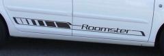"""Dekorfolie """"Roomster"""" - Schwarz Anthrazit"""