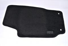 Textilfußmatten-Set Premium Fabia 1 aus Polyamid