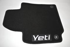 Textilfußmatten-Set Standard Yeti