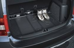 Gummimatte für Kofferraum ohne doppelten Ladeboden / ohne Stahlr